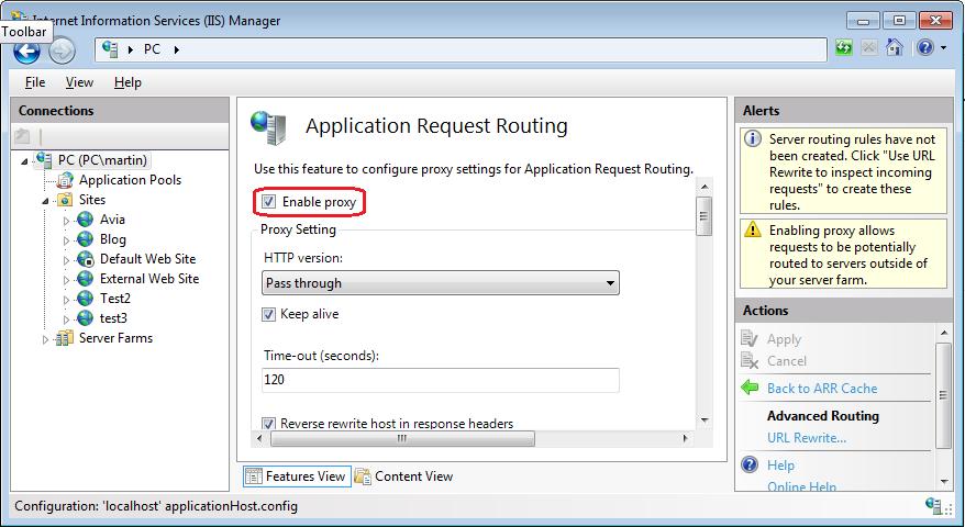 Experience Sitecore! | IIS URL Rewrite module - as reverse proxy