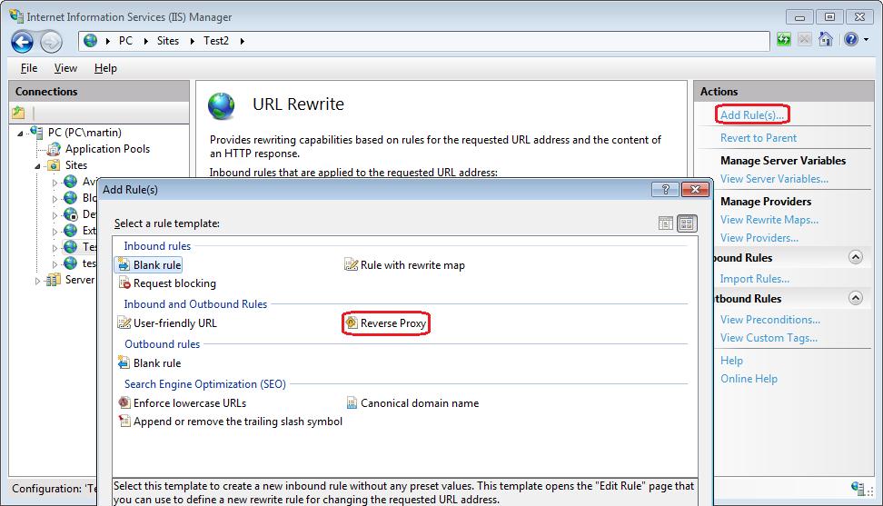 Experience Sitecore! | IIS URL Rewrite module - as reverse