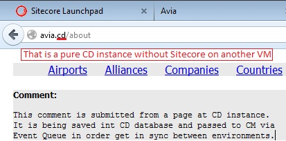 Experience Sitecore! | Editing content on a CD server  Part 2  Event